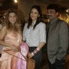 Ramona Narang,Isha Koppikhar and Wendell Rodricks at the graces Resort collection preview