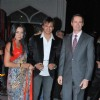 Bollywood actors Vivek Oberoi & Celina Jaitley at the IIFA press meet