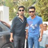 Ranbir Kapoor and Karan Johar at Wake Up Sid DVD launch