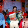 Bollywood actor Sonam Kapoor celebrates Christmas with Anganwadi children in Mumbai on Saturday