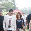 Akshay Kumar and Twinkle Khanna at Mid-Day race in Mahalxmi Race Course
