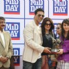 Akshay Kumar and Twinkle Khanna with the winner at Mid-Day race in Mahalxmi Race Course