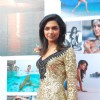 Deepika Padukone at Kingfisher calendar launch in Napeansea Road, Mallya''s residence