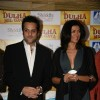 Fardeen Khan and Susmita Sen at Dhula Mil Gaya promotional event at MMTC Festival of Gold at Tulip Star