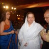 Pt Jasraj and Rani Mukherjee at V Shantaram Awards at Novotel