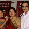 "Actors Shubhangi Atre, Reema Lagoo and Shaleen Bhanot at a press meet for NDTV Imagine''s new show ""Do Hanson Ka Jodaa"" , in New Delhi on Teusday 22 Dec 2009"