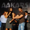 Bollywood actors John Abraham and Bipasha Basu at MMK College Festival Aakarshan at Khar Gymkhana Ground