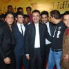 Shahrukh Khan, Sharman Joshi, Madhwan, Vidhu Vinod Chopra and Aamir Khan at 3 Idiots Press Meet at IMAX Wadala