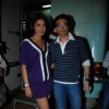 Priyanka Chopra and Uday Chopra on the sets of Star Plus Music Ka Maha Muqabla at Chembur