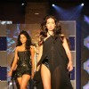 Model walking on ramp at Energy Drink XXX launch at Grand Hyatt