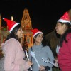 Christmas eve at Cathedral of the Sacred Heart, in New Delhi on Thrusday