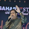 Singer Sudesh Bhosle singing in th new year at Sahara Start at Sahara Star