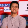 Aamir Khan,at press-meet to promote film ''''3-idiots'''',at Noida