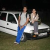 Shahid Kapoor and Genelia D''Souza on Top of a Car to Promote Chance Pe Dance at Kamalistan
