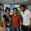 Priyanaka and Uday Chopra visits Radiocity studio to promote their fuilm Pyaar Impossible at Bandra