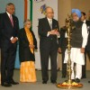 Prime Minister Dr Manmohan Singh inaugurating the '''' 8th Pravasi Bharatiya Divas'''' in New Delhi on Friday