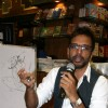 Javed Jaffrey at Karadi tales story telling session at Landmark
