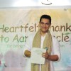 Aamir Khan grace Seksaria School festival at Malad in Mumbai on Sunday Night