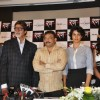 "Bollywood actors Mohnish Behl, Rajat Kapoor, Amitabh Bachchan, Ritesh Deshmukh, Neetu Chandra, Ram Gopal Varma and Gul Panag at the press meet of ""Rann"""