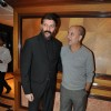 "Bollywood actors Aditya Pancholi, and Anupam Kher at the music launch of ""Striker"" in Mumbai"