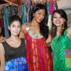 Model Nina Manuel posing in designer Anupama Dayal''s collection at Bombay Electric