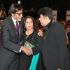 Amitabh Bachchan, Farah Khan and Sajid Khan at Stardust Awards 2010 in Mumbai