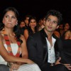 Bollywood actors Lara Dutta and Shahid Kapoor at Stardust Awards 2010 in Mumbai