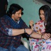 Arshad Warsi and Vidya Balan promote Ishqiya on Music ka Maha MUqabla at Chembur in Mumbai on Monday Evening