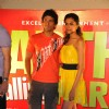 "Farhan Akhtar and Deepika Padukone at ""Karthik Calling Karthik Film Music Launch"" in Cinemax"