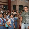 Salman Khan at St Catherine''s Home at Andheri
