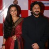 Bollywood actors Arshad Warsi and Vidya Balan during a promotional event for film Ishqiya in New Delhi on Thursday