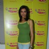 Deepika promote KCK on Radio Mirchi on Lower Parel at Mumbai