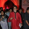 Big B at Aman Ki asha poetry reading