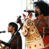 The band Swarathma during the ''''Rock ''N India 2010'''' music festival in New Delhi on Saturday