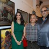 Bollywood couple Sridevi and Boney Kapoor at art event at Jehangir