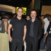 Vidhu Vinod Chopra and Raju Hirani at filmfare red carpet