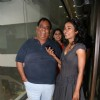 Tanishta Chaterjee and Satish Kaushik at Big FM studios at Andheri