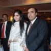 Mukesh Ambani with daughter Isha Ambani at CNN IBN heroes event