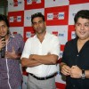 Riteish Deshmukh, Akshay Kumar and Sajid Khan at Housefull music launch at Big FM