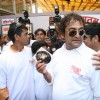 Mahesh Manjrekar Seeks blessing at Siddhivinayak for his Film City of Gold at Dadar