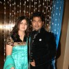Navin Prabhakar with wife Seema at their wedding anniversary in Goregaon