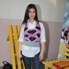 "Ayesha Takia on location of film ""Pathshala"" at Bhavans College"