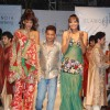 Carol Gracias walks the ramp for Umair Zafar show at Rennaisance Club