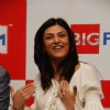Bollywood actress Sushmita Sen at Big FM to promote Miss Universe India pageant at Big FM