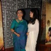 "Filmmaker Aparna Sen with Bollywood actress Raima Sen at the premiere of ""The Japanese Wife"" in Mumbai"