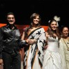 Aarti Chhabria, Isha Koppikar walk the ramp for Bharat n Dorris on day 2 in St Andreews Auditorium