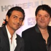 Arjun Rampal and Sajid Khan grace Housefull - ICC 20-20 worldcup media meet at Taj Lands End, Bandra in Mumbai on Wednesday Evening