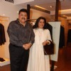 Satish Shah with wife at Karan Johar''s New Men''s Wear Collection, AZA in Mumbai