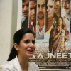 Bollywood actress Katrina Kaif at a promotional event of ''Rajneeti'' on Radio Mirchi at Lower Parel