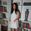 Shraddha Nigam at the launch of TV actor Mayank Anand''s book ''Love from the Sidelines'' at ICIA Art Gallery